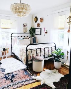 Boho Bedroom Styling