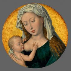Hans Memling , The Virgin Mary nursing the Christ Child