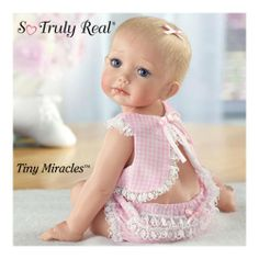 Cindy McClure Tiny Miracles Hailey Needs A Hug Realistic Baby Doll: So Truly Real by Ashton Drake « Game Searches