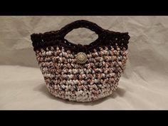 #Crochet Look a like Valentino Red Designer Clutch Handbag #TUTORIAL - YouTube