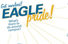 What's there to do around campus? Click through for an up-to-date listing! #eaglepride