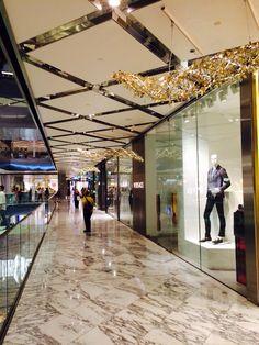 Westfield Mall in Sydney.