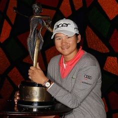 Yani Tseng... this young woman is amazing! Congrats on your Founders Cup victory!