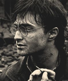 Well, this is beautiful. Behind the scenes of Deathly Hallows part 2.