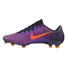 Nike Mercurial Vapor XI FG Soccer Cleat (Purple Dynasty Bright Citrus Hyper  Grape Total Crimson) 359707d67