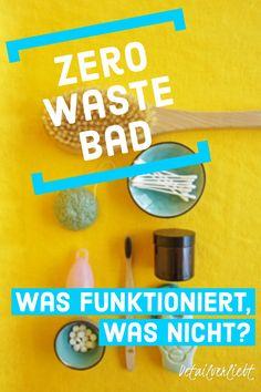 www.detail-verliebt.de: Dos and Don'ts für ein plastikfreies Badezimmer mit Zero-Waste-Produkten für mehr Nachhaltigkeit wie Bambuszahnbürste, Menstruationstasse, Haarseife und Co. #zerowaste #kosmetikselbermachen #diykosmetik #nachhaltigkeit #sustainability Aloe Vera, Dry Brushing, Zero Waste, Homemade Cosmetics, At Home Spa, Beauty Routines, Showers, Brush Teeth, Time Out