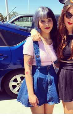There is 1 tip to buy skirt, skirt with suspenders, melanie martinez. Melanie Martinez Style, Melanie Martinez Outfits, Crybaby Melanie Martinez, Adele, Looks Vintage, Cry Baby, Urban, Crying, Cute Outfits
