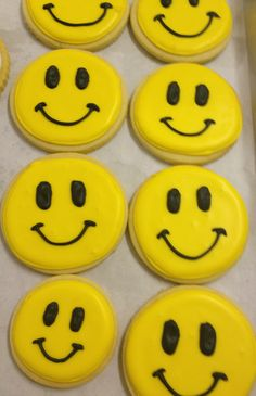 Happy Face Cookie. Have a great day! :-)
