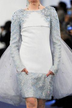 Chanel - baby blue evening dress