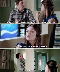 "#PLL 7x17 ""Driving Miss Crazy"" - Aria and Ezra"