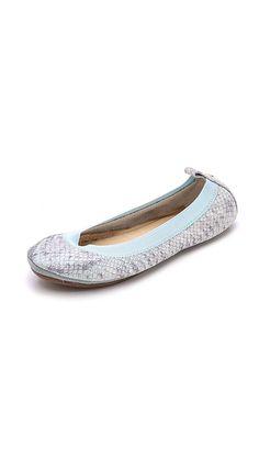 Yosi Samra Women's Samara Metallic Snake Flats -- Be sure to check out this awesome product.