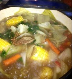 Caldo De Res (Delicious Mexican Beef soup )