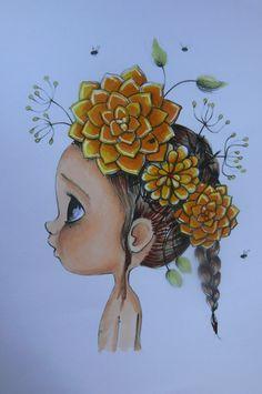 Dibujo de Emmanuelle Colin