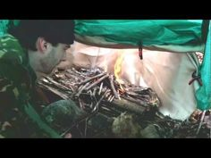 How To Make A Cheap Heated Tarp Shelter - The Good Survivalist