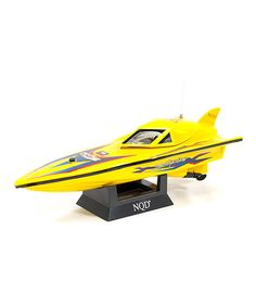 Take a look at the EP-777 Remote Control Racing Boat on #zulily today!
