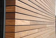Afbeeldingsresultaat voor gevelbekleding hout