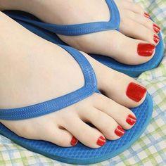 My toenails pantyhose See
