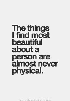 Never physical....