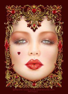 Maxine Gadd, does the most beautiful artwork Fantasy Women, Fantasy Art, Arte Pop, Up Girl, Beautiful Artwork, Female Art, Alice In Wonderland, Art Drawings, Illustration Art