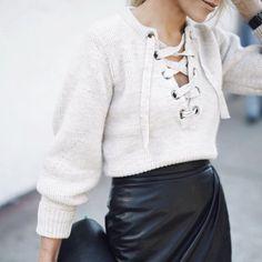 details✖️✖️ (jumper @isabelmarant skirt @tamaramellon ) |  @johnhillin