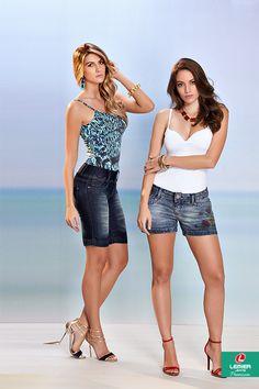 Lemier Jeans Premium | Summer 2015 | Verão 2015 |  bermuda jeans feminina; shorts jeans feminino; jeanswear; regata feminina; lookbook feminino; look feminino.