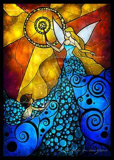 The Blue Fairy by mandiemanzano.deviantart.com