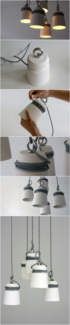 Cablelight by the Dutch designer Patrick Hartog
