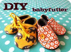Babypuschen Schnitt und Anleitung
