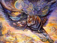 007-El tigre polilla-Josephine Wall-via www.dana-mad.ru