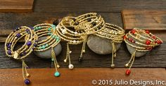 Avian gold #JulioDesigns #HandmadeJewelry #TopSeller