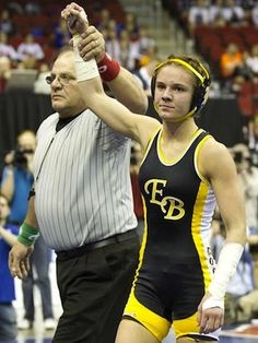 Megan Black MADE history this year when she became the first girl to earn a medal at the Iowa state wrestling tournament and if you know anything about Iowa and there love and passion for the sport of wrestling then you know how amazing this is.