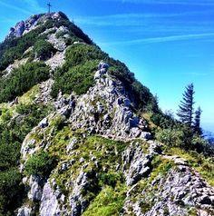 Rosstein Peak hikes in Bavaria.