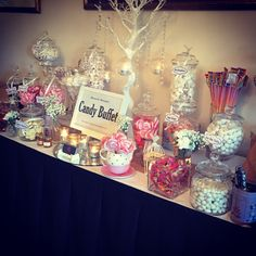 Gorgeous candy bar! Exclusive to Lauriston House