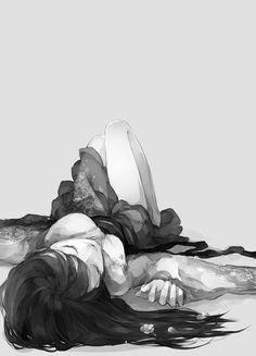 As vezes só queremos deitar e fechar os olhos...