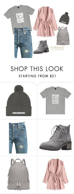 """""""Untitled #49"""" by nihanbr ❤ liked on Polyvore featuring Levi's, Michael Kors, men's fashion and menswear"""