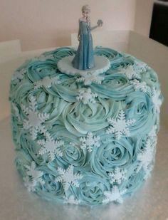 Disney Frozen Elsa Cake