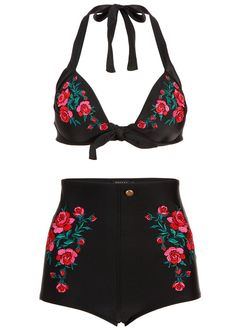 Bring out the West in me High Waist Two-Piece Swimsuit
