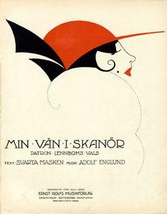 Min vän i skanör, 1920 (ill.: [ W.S.G. (monogram) ]); ref. 15860
