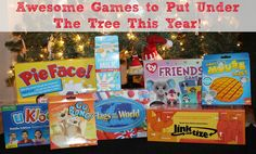 Awesome New Games to Put Under The Tree This Year!  #HolidayGiftGuide #Gamestoplaythisyear