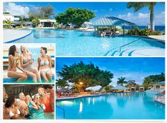 Beaches Ocho Rios - get ready for some giant fun at our giant pool where you can make an even bigger splash at the newly expanded main pool and lounge area. Featuring new pool cabanas, and a recreated lazy zone for the little ones. #Jamaica
