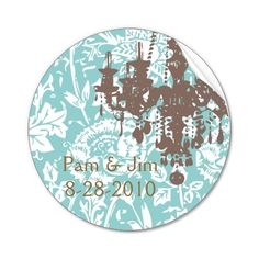 20 Save the Date Vintage French Damask Chandelier by elainebiss, $12.99