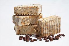 organic soap bar vegetal soap bar coffee by lafabrikabulles