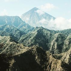 Pointiest mountain on Flores  #mountain #Indonesia #Flores #travel #photography #nature #hike #nationalparks