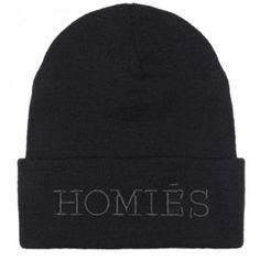 Homies Beanie Hat Embroidery b25be841eadc