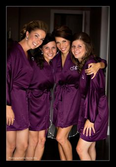 BRIDESMAID ROBES - Handmade to Order. $37.00, via Etsy... great gift for the girls!