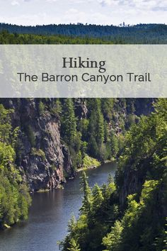 Exploring the trails at Barron Canyon in Algonquin Park, Ontario. The Effective Pictures We Offer Yo Backpacking Canada, Backpacking South America, Alberta Canada, Canada Ontario, Quebec, Places To Travel, Places To See, Ontario Travel, Ontario Camping