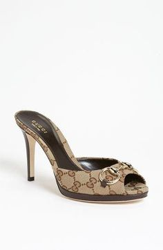 NEW!Gucci 'New Hollywood' Slide Sandal