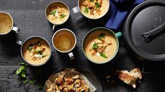 This Middle Eastern-spiced cauliflower soup is all about the stock - go for the best you can afford.
