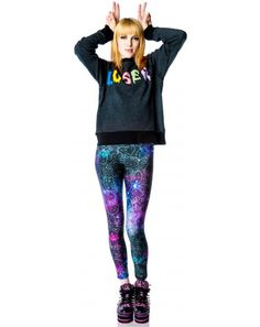 bfb523450 Hello Kitty galaxy leggings