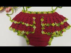 Crochet For Kids, Free Crochet, Crochet Designs, Crochet Patterns, Boho Shorts, Lace Shorts, Crochet Mask, Chor, Crochet Videos
